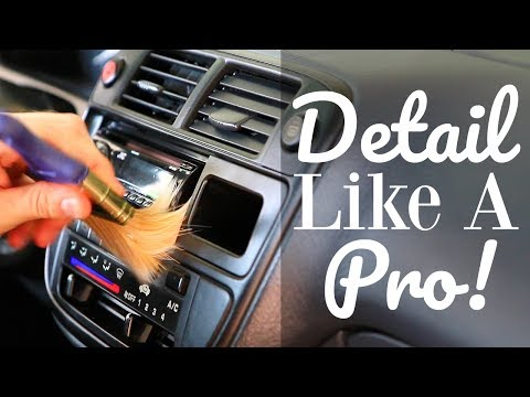 Car Detailing Tips and Tricks! Car Interior Cleaning
