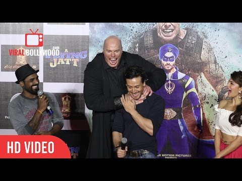 Remo D'Souza And Tiger Shroff Full Speech | A Flying Jatt Official Trailer Launch