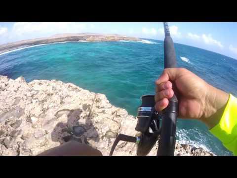 Extreme Rock Fishing Aruba