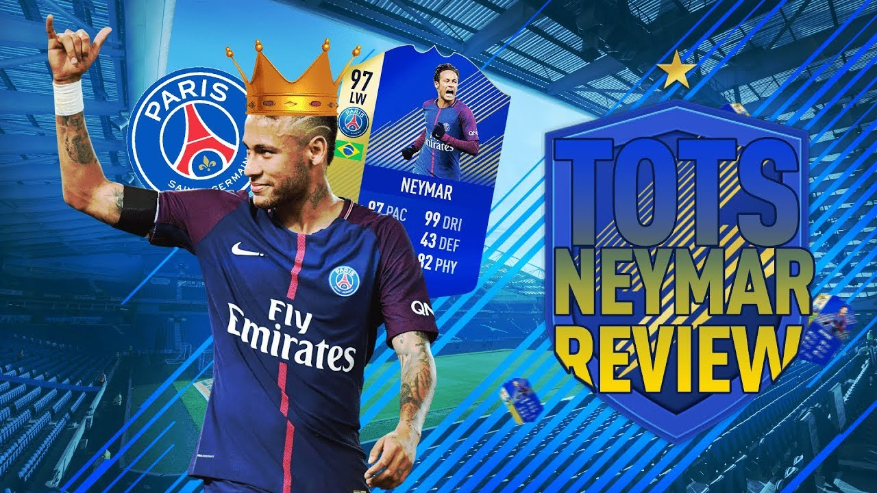 Video FIFA 18: TOTS Neymar (97) Player Review - FIFA 18 Ultimate Team Player Reveiw!