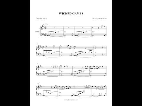 Wicked Games - The Weeknd (Piano Cover) by Aldy Santos