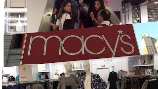 Macy's Shopping and Tour/ Shopping Macy's/ Macy's World Lagest Store in Manhattan New York City
