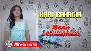 Lagu Natal Terbaru 2019 - Hari Bahagia - Mona Latumahina (Lyrics)