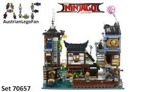 Lego Ninjago Movie 70657 Ninjago City Docks Speed Build