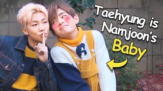 Taehyung is Namjoon's baby (VMON)