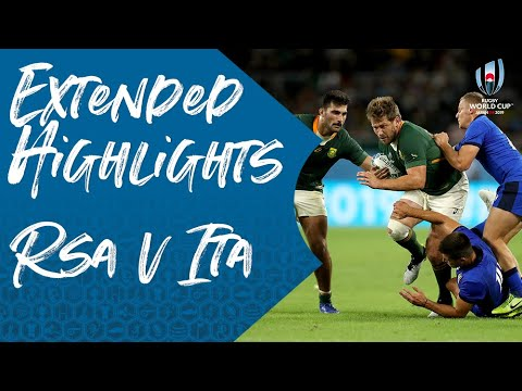 extended-highlights:-south-africa-49-3-italy---rugby-world-cup-2019