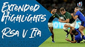 Extended Highlights: South Africa 49-3 Italy - Rugby World Cup 2019