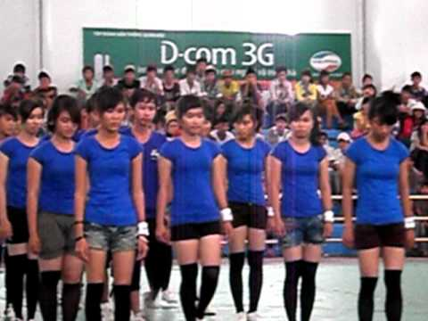 Aerobic Lớp 11B5 - THPT Ninh Hải ----Ninh Thuận
