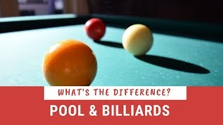 What is the Diffęrence Between Pool and Billiards?