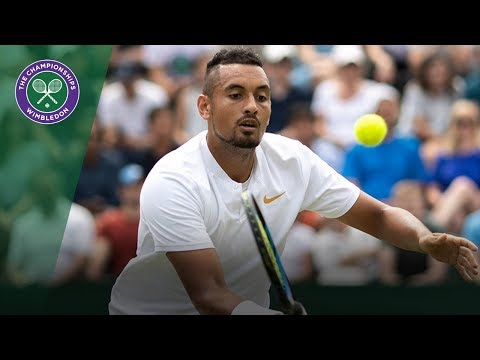 Nick Kyrgios and umpire James Keothavong have comical exchange | Wimbledon 2018