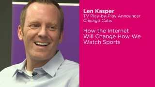 Cubs Announcer Talks About the Interaction Between Sports and the Internet