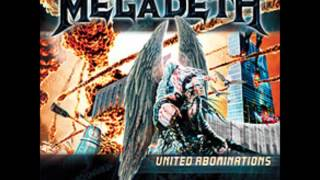 Megadeth United Abominations (Song)