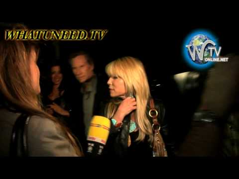 Pamela Bach Hasselhoff Leaving Director Gregori J Martin's Birthday Party