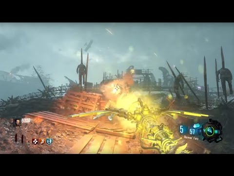 BO3 Zombies - ZC Origins Wind Staff & Upgrade Boreas' Fury Tutorial (Origins Remastered)