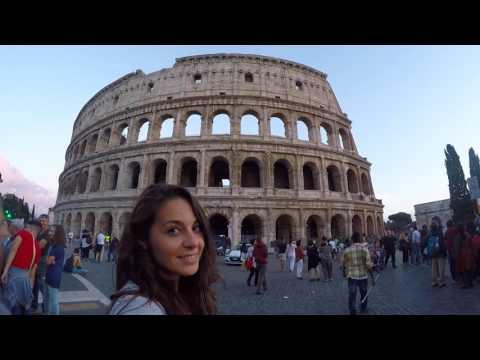 GOPRO Roma-Italia travel 2016