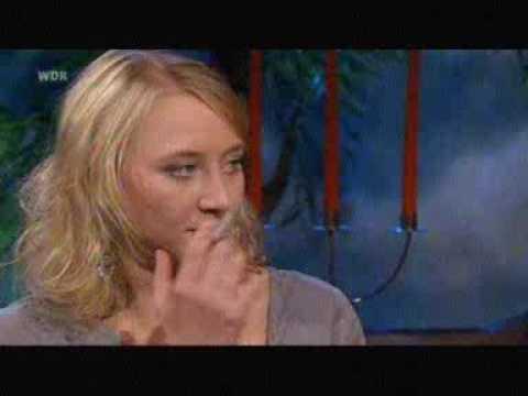 Anna Maria Mühe smokes IRL