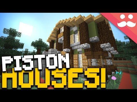 INSANE 1 Chunk PISTON HOUSES In Minecraft!