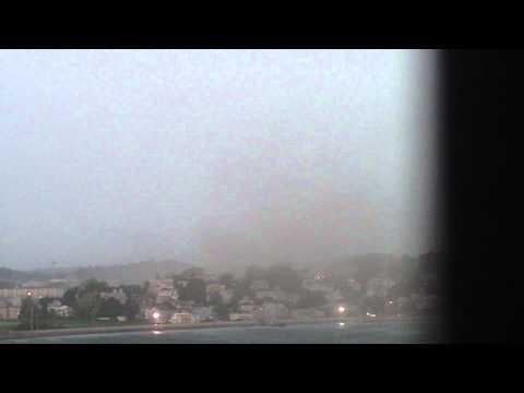 Tornado---Gustnado in Revere Mass .MOV