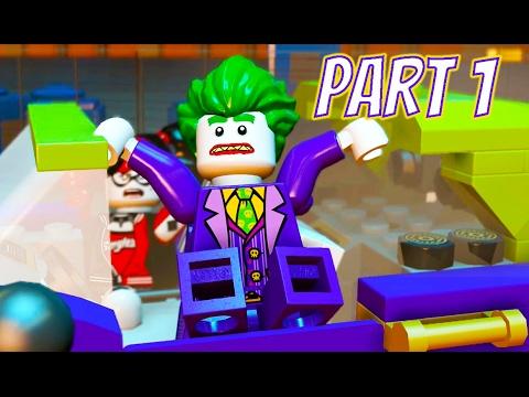 LEGO Dimensions The LEGO Batman Movie Story Part 1 The Energy Plant ...
