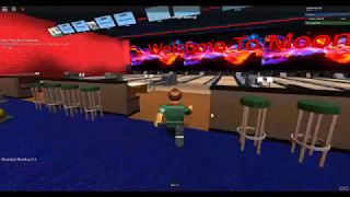 bowling in roblox at moon light bowl