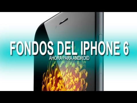 C mo descargar los fondos de pantalla del iphone 6 en tu for Bajar fondos de pantalla movibles