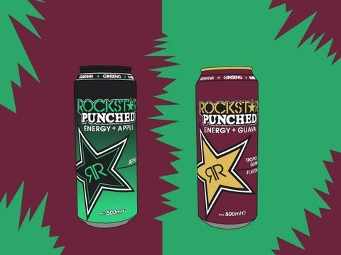 Rockstar Punched Apple & Guava - Energy Drink Review (Styx Crityx Nr. 15)