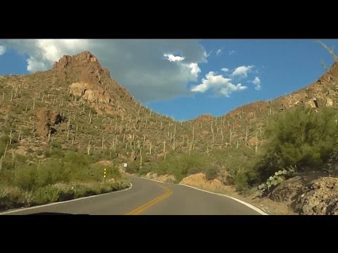 Gates Pass Road near Tucson, Arizona