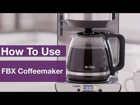 How to Use The FBX Coffee Maker