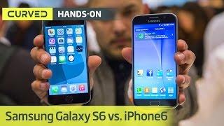Samsung Galaxy S6 vs. iPhone 6 | deutsch | MWC 2015