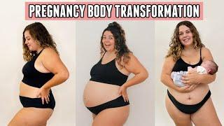 My 9 Month Body Transformation Through Pregnancy