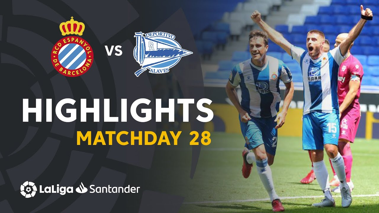 Highlights RCD Espanyol vs Deportivo Alavés (2-0)
