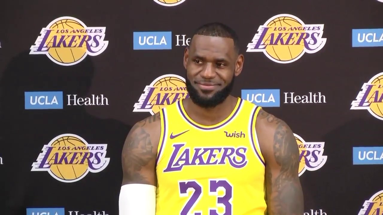[FULL] LeBron James' first press conference with Los Angeles Lakers | ESPN