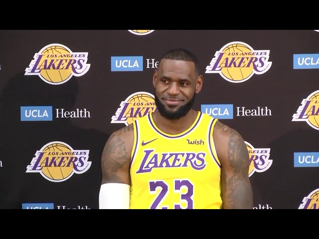 New Los Angeles Laker LeBron James and his team are the talk of the town 2fc6980f2