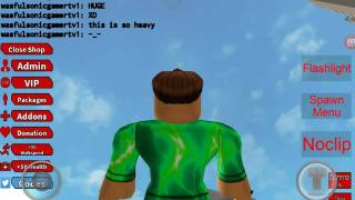 Playing gmod in roblox😃
