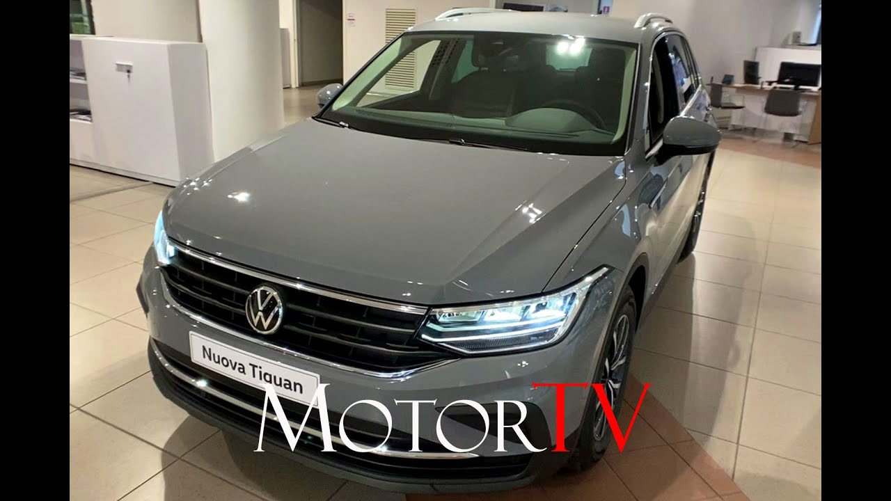 DESIGN : New 2021 #Volkswagen #Tiguan l Walkaround - YouTube