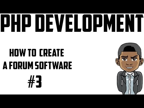 [PHP] How To Create A Forum Software - Creating The Home Page