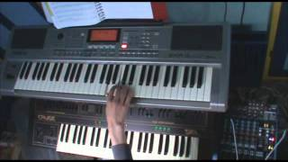 Hell Sent in The Clowns (Lordi keyboard cover)