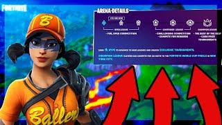 🔥175+ POINTS ARENA GRIND + FASTBALL SKIN GAMEPLAY🔥 // 985+ WINS // FORTNITE BR