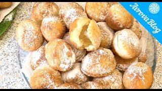 Воздушные пончики на закваске