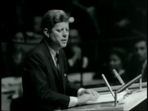 JFK Speech to UN General Assembly, 1963 Sep 20 (Full Speech)