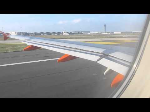 Decollo volo Easyjet Paris CDG