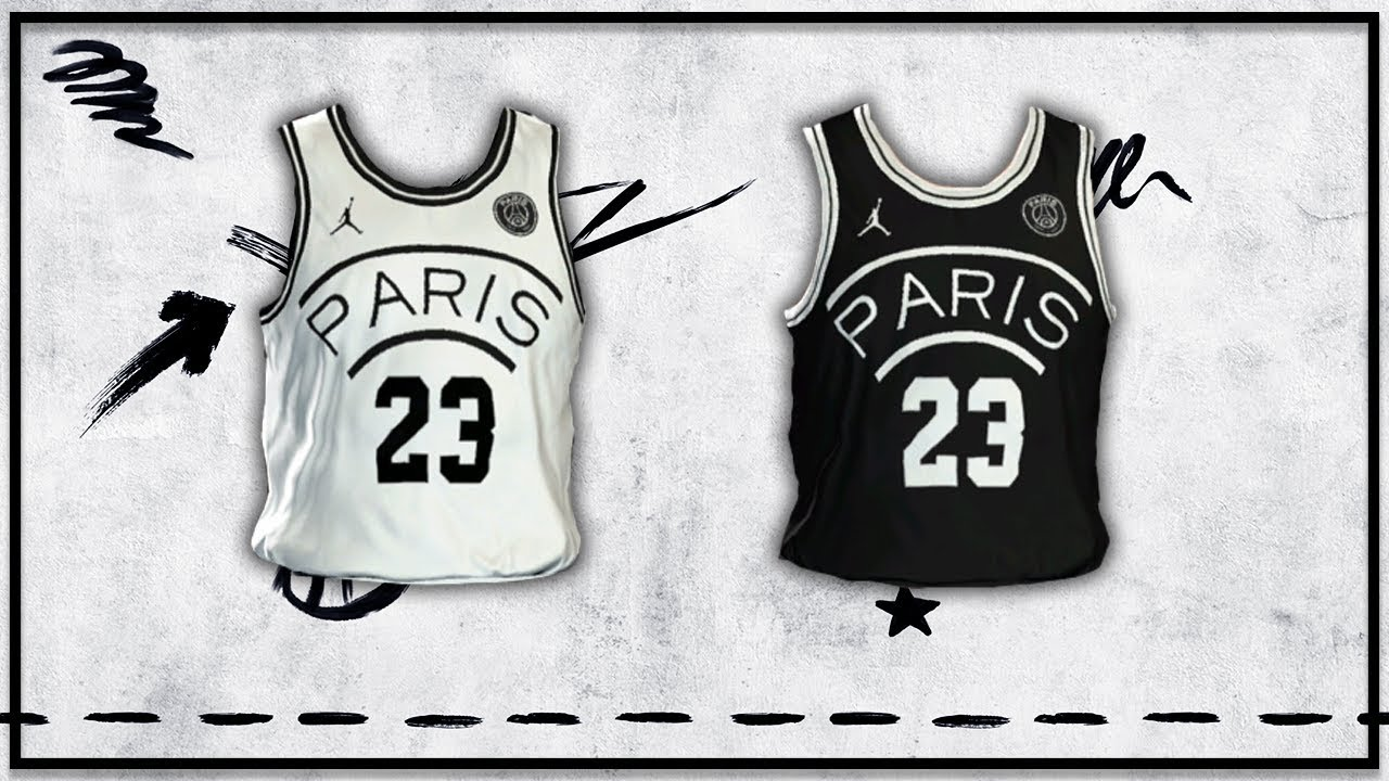 804ce38aaac NBA 2K19 - Jordan Paris Saint-Germain Jersey Tutorial - YouTube
