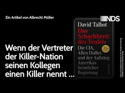 Wenn der Vertreter der Killer-Nation seinen Kollegen einen Killer nennt …   Albrecht Müller   NDS