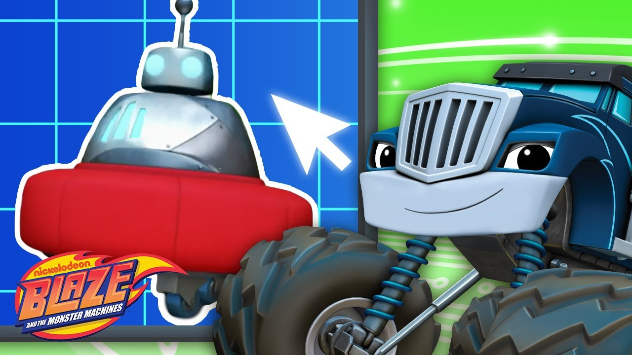 Download Crusher Builds Robot #6 | Games For Kids | Blaze and the Monster Machines