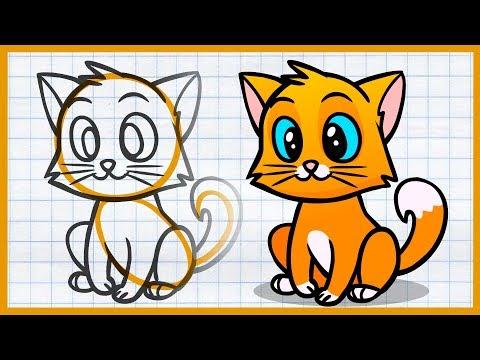 Как очень просто нарисовать тигра!