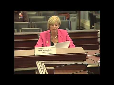 Congresswoman Hahn testifies in front of House Budget Committee on port funding levels