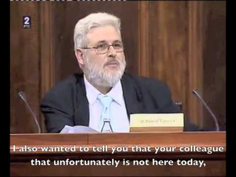 """GMO Public hearing in Serbian parliament - """"One exchange on Seralini"""" excerpts"""