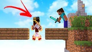 Minecraft: COMO EU CAI NISSO? - SKY WARS ‹ AMENIC ›
