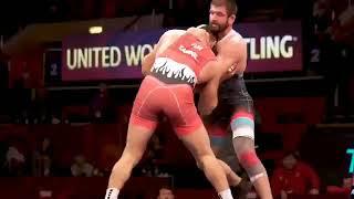 Avrupa Güreş Şampiyonası erkekler serbest stil 125 kilo finali