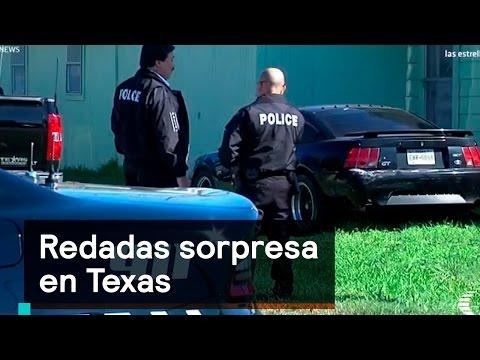 Redadas sorpresa en Texas - Trump - Denise Maerker 10 en punto